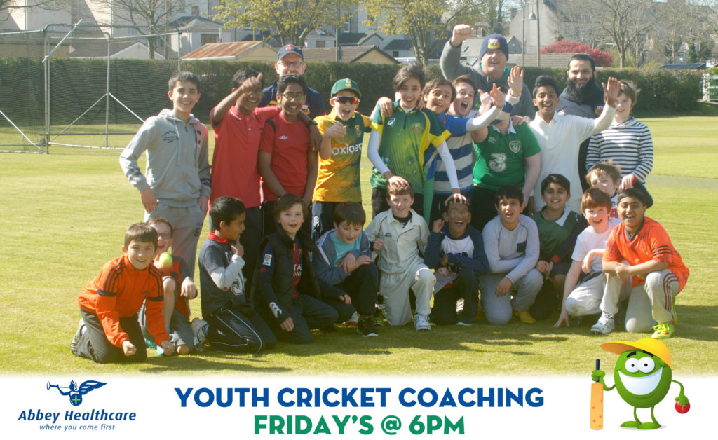 Youth Cricket Coaching - Friday's @ 6pm