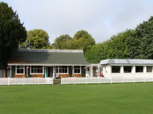 The famous Old Clubhouse at the Mardyke Cricket Grounds