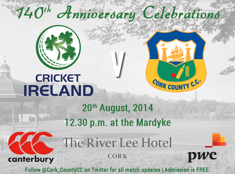 Cork County 140th Anniversary Match