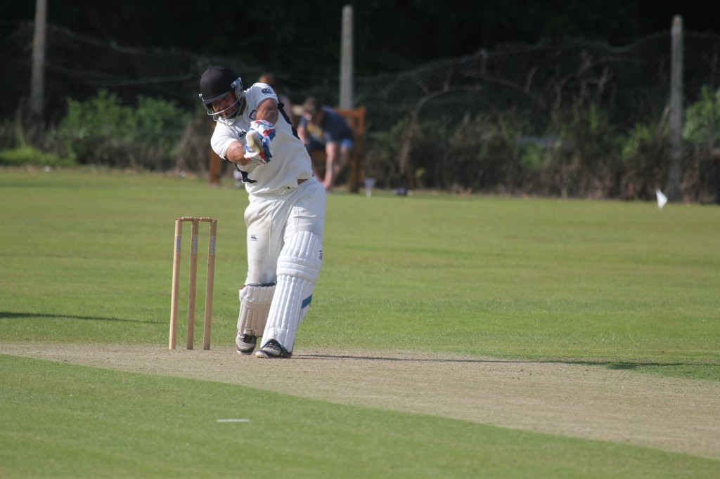 Stephan Grobler drives through the covers for Cork County