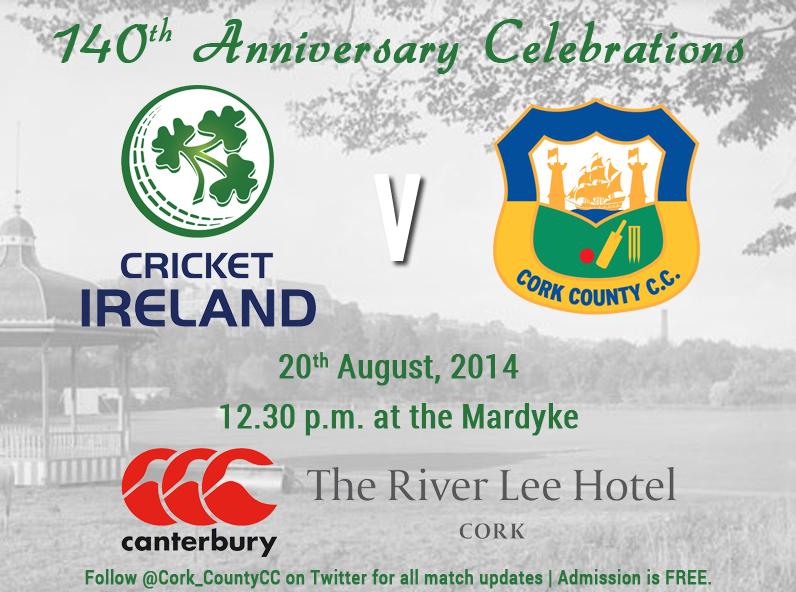 Cork County 140th Anniversary Match