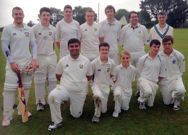 The victorious Cork County team which defeated Cork Harlequins in the Cork T20 Cup