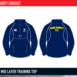 Cork County Cricket Classic mid layer training top 2015