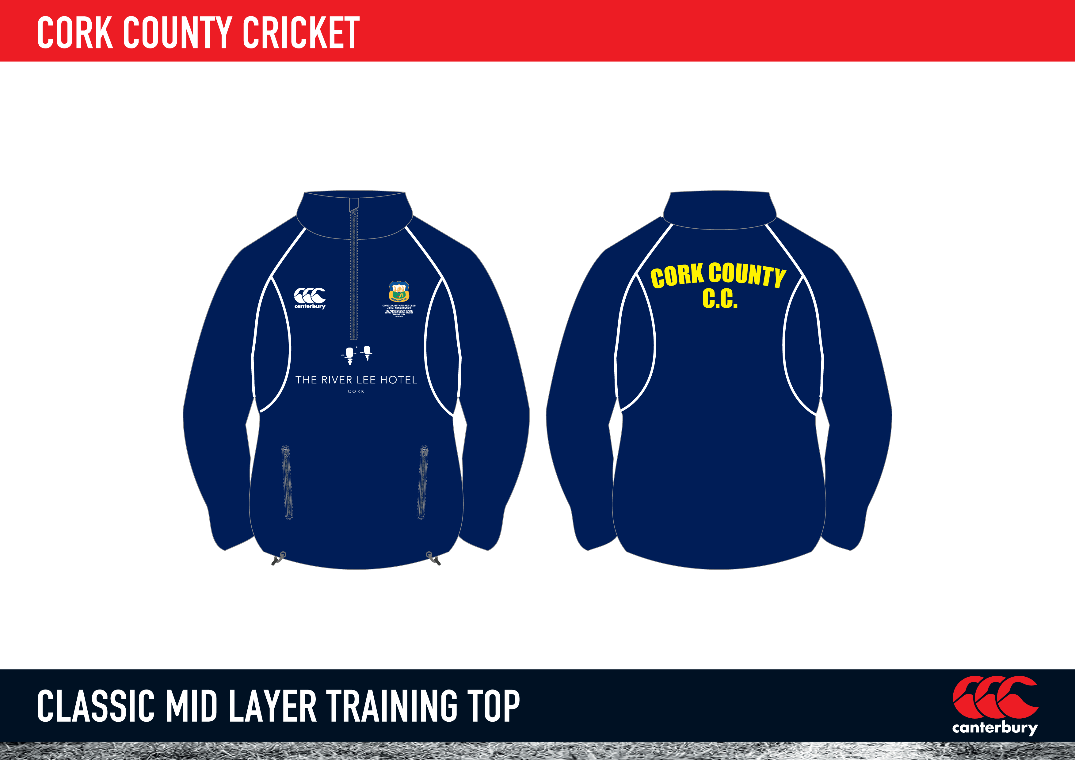 cork county cricket classic mid layer training top 2015 « cork