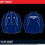Cork County Cricket Classic quarter zip jacket 2015
