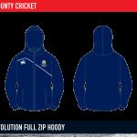 Cork County Cricket MTO Revolution Full Zip hoody 2015