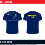 Cork County Cricket Mercury TCR T shirt 2015