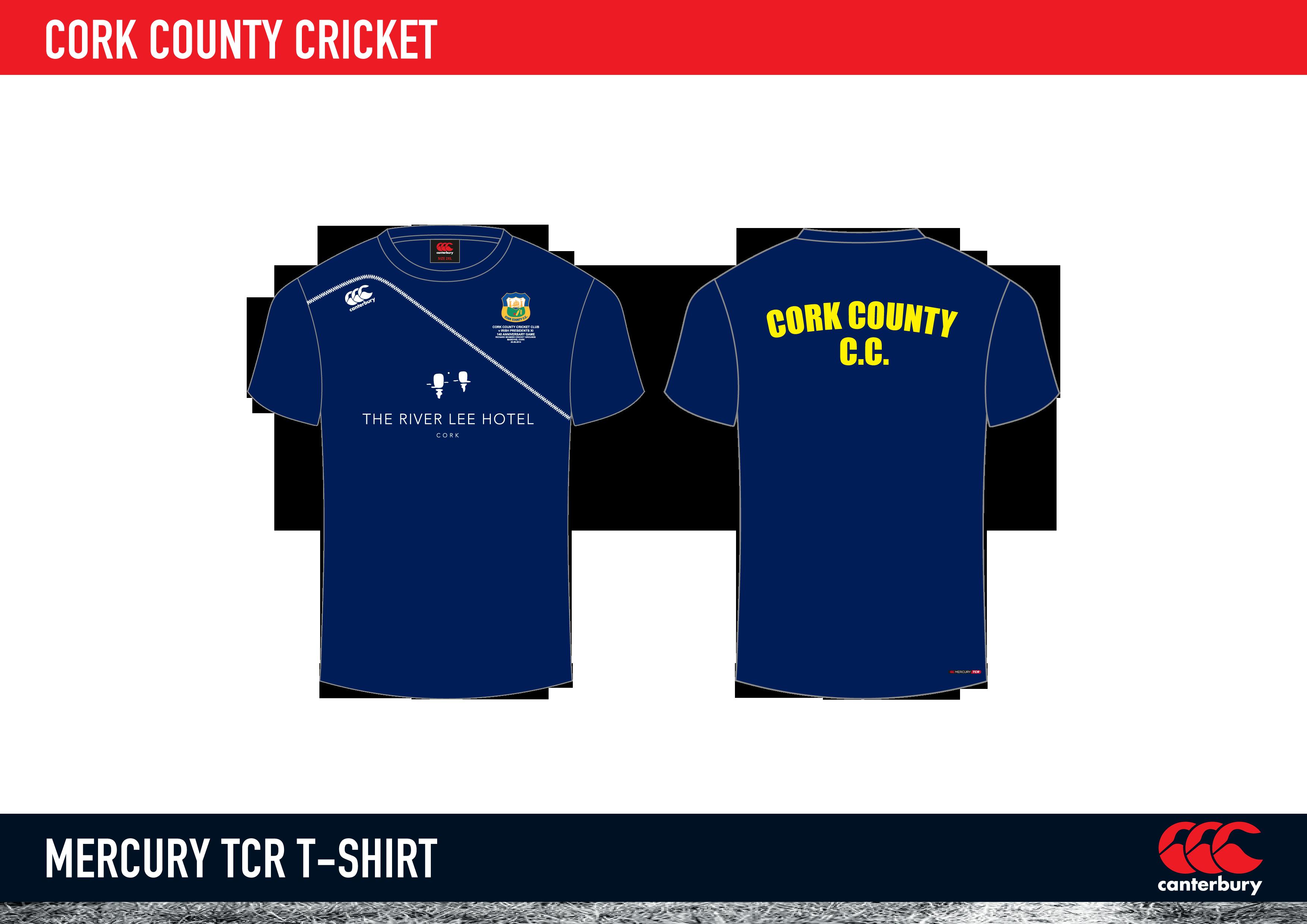 cork county cricket mercury tcr t shirt 2015 « cork county cricket