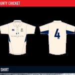Cork County Cricket Shirt 2015