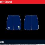 Cork County Cricket Tech shorts 2015