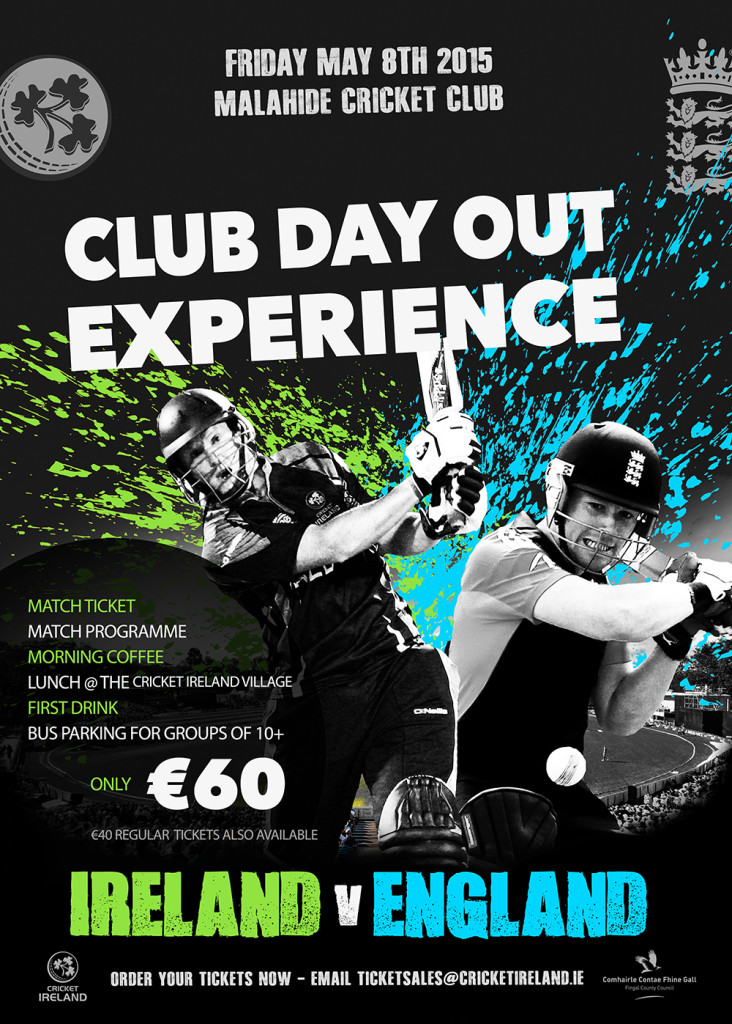 Ireland v England Club Day Out Experience