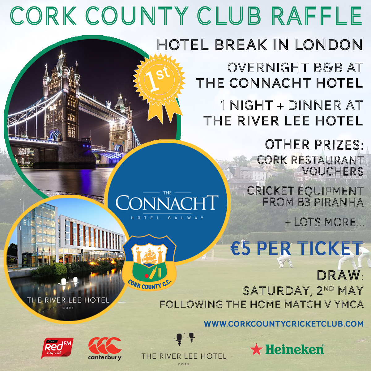 2015 cork county club raffle - Cork Restaurant 2015