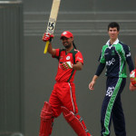 Jatinder Singh batting v Ireland