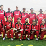 The Oman Cricket team