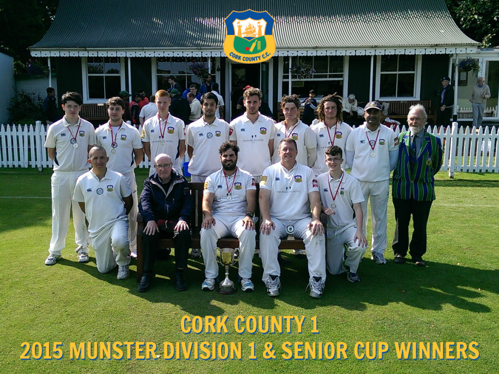 2015 Munster Division 1 & Senior Cup Winners