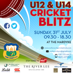 Cork U12 and U14 Cricket Blitz 2016