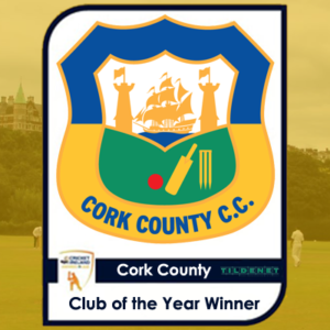 2016 Club of the Year - Cork County Cricket Club