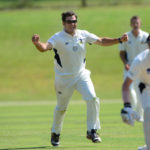 Malahide vs Corck County at Malahide on 28th June 2014