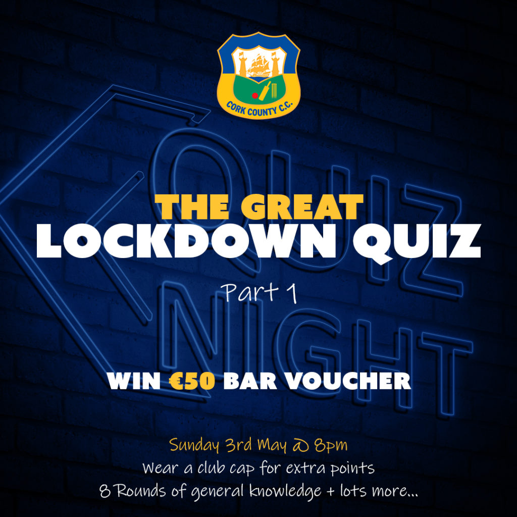 The Great Lockdown Quiz