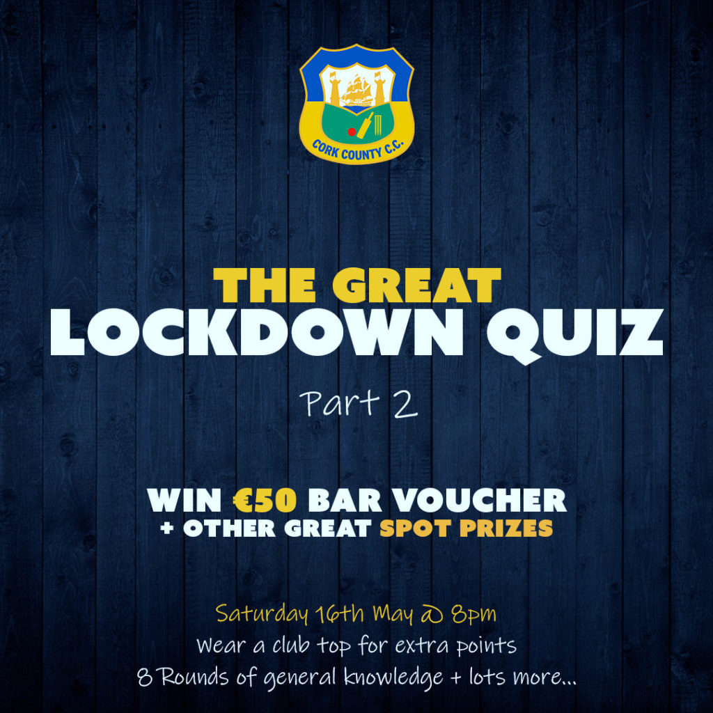 The Great Lockdown Quiz Part 2